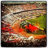 """Photo taken at Estadio Antonio Vespucio Liberti """"Monumental"""" (Club Atlético River Plate) by Patricio Andrés L. on 3/7/2013"""