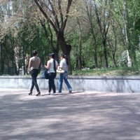 Photo taken at YSU Park | ԵՊՀ այգի by Andranik G. on 4/30/2013