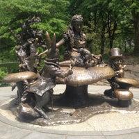 Photo taken at Alice in Wonderland Statue by Sumit D. on 5/14/2013