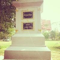 Photo taken at วัดพระยาญาติ (ปากง่าม) by Sweet Sea P. on 4/6/2013