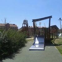 Photo taken at Parque de Juegos El Galeon (Parque del Barco Pirata) by Mari Jose P. on 4/14/2013