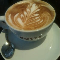 Photo taken at Costa Coffee by Rich M. on 2/9/2013