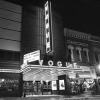 Photo taken at Vogue Theatre by Robert E. on 2/4/2015