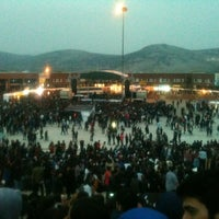 Photo taken at 19 Mayıs Amfisi by Hüseyin U. on 5/17/2013