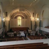 Photo taken at West Hunter Street Baptist Church by Alex-Arthur W. on 1/5/2014