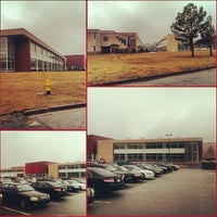 Photo taken at Martin Luther King Jr High School by Alex-Arthur W. on 1/10/2014