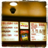 Photo taken at In-N-Out Burger by Jason B. on 3/16/2013