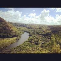 Photo taken at Wailua River by Melody L. on 9/23/2012