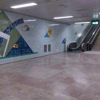 Photo taken at Metro Bela Vista [VM] by Fernanda G. on 12/18/2014