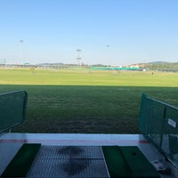 Photo taken at Sky72 Dream Golf Range by Rachel L. on 9/29/2018