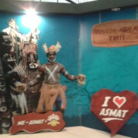 Photo taken at Museum Asmat by Imam S. on 5/29/2014