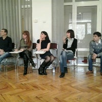 Photo taken at Yerevan State University Guesthouse by Yana H. on 2/16/2013