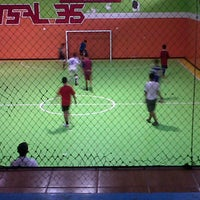 Photo taken at Futsal 35 by Rafi Indra M. on 5/3/2013