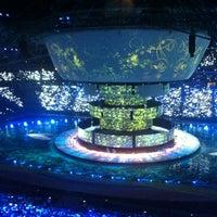 Photo taken at Kazan-Arena by Nikita S. on 7/6/2013