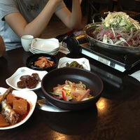 Photo taken at 화우명가 by Michelle S. on 7/12/2013