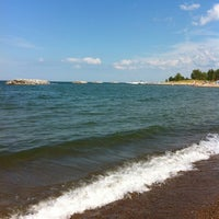 Photo taken at Presque Isle Beach 11 by Farin A. on 8/18/2013