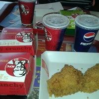 Photo taken at KFC by Praneeth E. on 5/14/2013