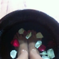 Photo taken at Bali Bliss Nail and Day Spa by Vanessa C. on 1/18/2013
