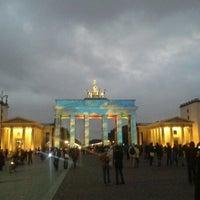 Photo taken at Pariser Platz by Sebastian K. on 10/10/2012