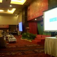 Photo taken at Hotel Antares Indonesia, Jl. Sisingamangaraja No.328 Medan by Mery C. on 6/29/2013