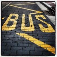 Photo taken at Parada Bus Vitoria 7 by Leopoldo R. on 11/20/2012