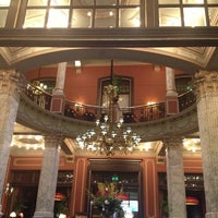 Photo taken at Hotel Des Indes by Daisy M. on 3/9/2013
