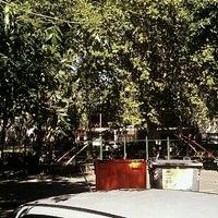 Photo taken at Plaza El Trebol by Cristina W. on 3/9/2013