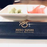 Foto tomada en Hiso Sushi por Ben P. el 5/5/2018