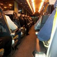 Photo taken at AŞTİ Metro Turizm Peronu by Ibrahim B. on 2/21/2013