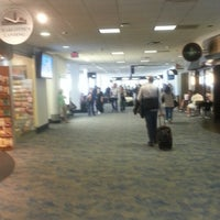 Photo taken at Concourse A by Pavel D. on 4/25/2013