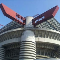 "Photo taken at Stadio San Siro ""Giuseppe Meazza"" by Emanuele B. on 6/19/2013"