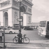 Photo taken at Place Charles de Gaulle by Frantisek Z. on 4/20/2013