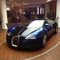 Photo taken at Bugatti | Automobil Forum Unter den Linden by Iveta H. on 2/15/2013