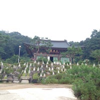 Photo taken at 약수사 by SJ H. on 8/4/2013