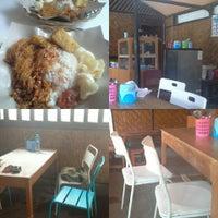 """Photo taken at Nasi Uduk Betawi Kebon Kacang """"Mpok Nun"""" by ciwengcdp on 4/16/2015"""