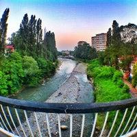 Photo taken at Хостинский мост by Дмитрий Х. on 7/16/2014