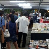 Photo taken at Bozcaada Kitap Fuarı by Hakan 3. on 8/24/2014