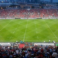 Photo taken at BMO Field by Cheung F. on 6/16/2013