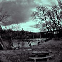 Photo taken at Mills River Recreational Park by Chaz on 2/8/2014