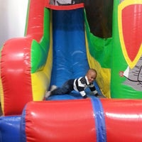 Photo taken at Joyful Jumps by Willie W. on 10/28/2013