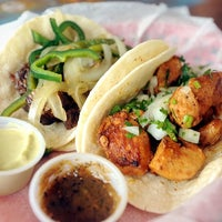 Photo taken at Tacodeli by Austin Chronicle on 6/19/2013