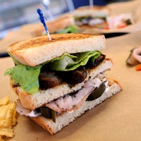 Photo taken at Noble Sandwich Co. by Austin Chronicle on 1/17/2013