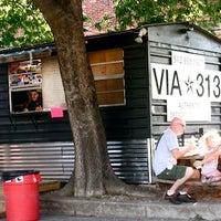 Photo taken at Via 313 by Austin Chronicle on 6/18/2013