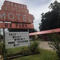 Photo taken at Orange Blossom RV Park & Motel by Rob S. on 6/28/2014