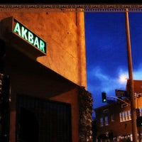 Photo taken at Akbar by LA Weekly on 10/21/2012