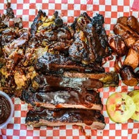 Photo taken at Robert Earls Real Deal BBQ by LA Weekly on 2/19/2016