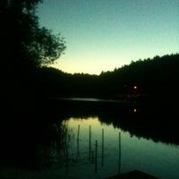 Photo taken at Озеро в Красногорском лесу by Yakov L. on 6/21/2013