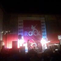 Photo taken at Café Rock by José Felipe P. on 3/1/2014