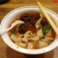 Photo taken at Xi'an Famous Foods by Ying on 1/17/2013