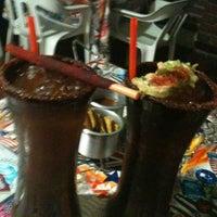 Photo taken at Barracrudas Beach Lounge by Ranas & Charles by Jorge R. on 5/24/2013